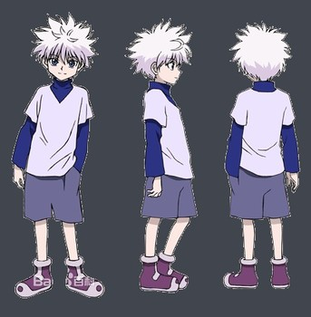 Hunter X Hunter Killua Zoldyck Cosplay Kostiumas