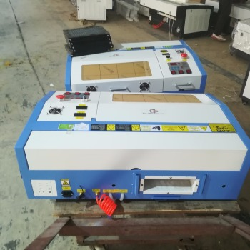LCSPR 50W CO2 mini laser cutting machine